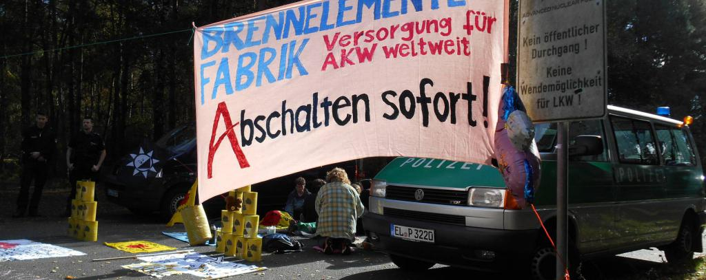 Protest in Lingen, 2014