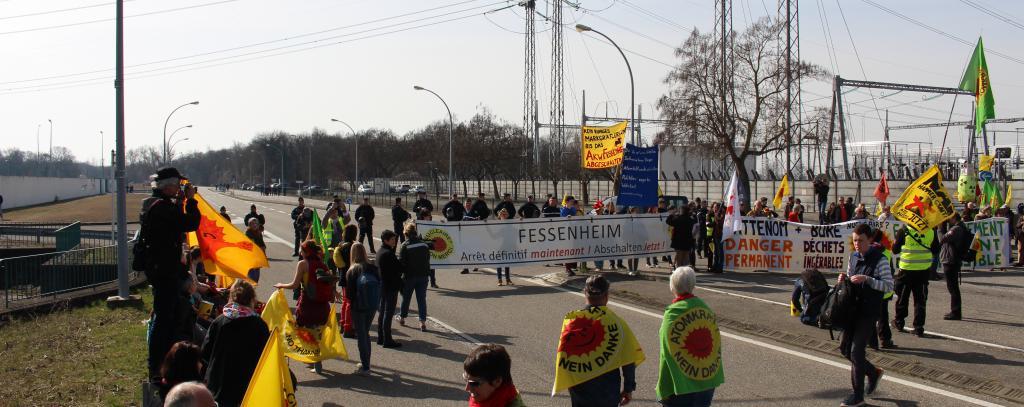 Demo AKW Fessenheim