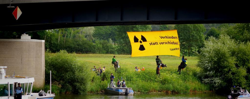 Foto Aktion Neckar Castor