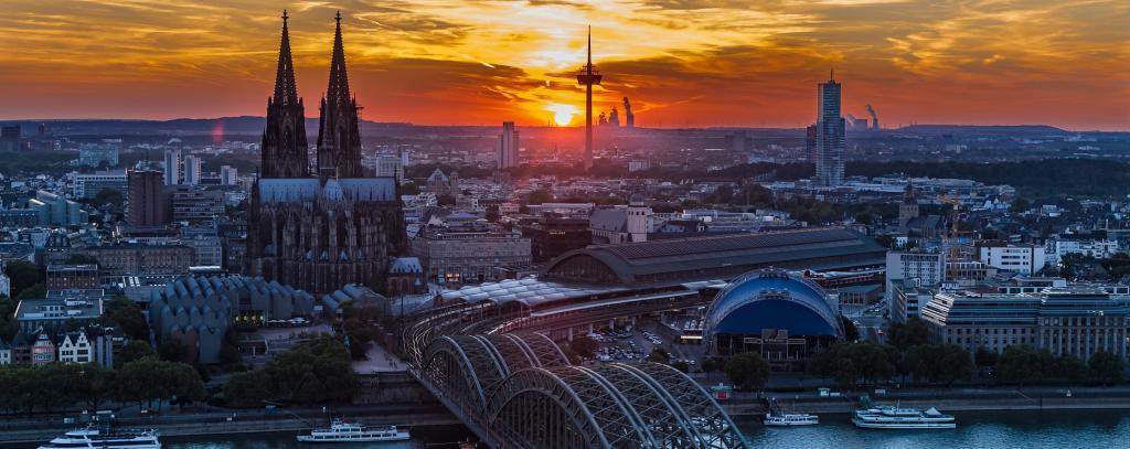 Luftbild Köln