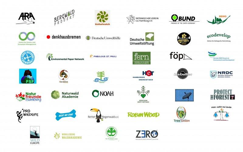 Logos 40 Organisationen