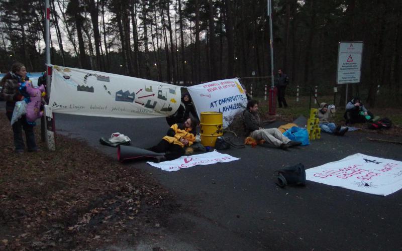 Protest in Lingen, 2015