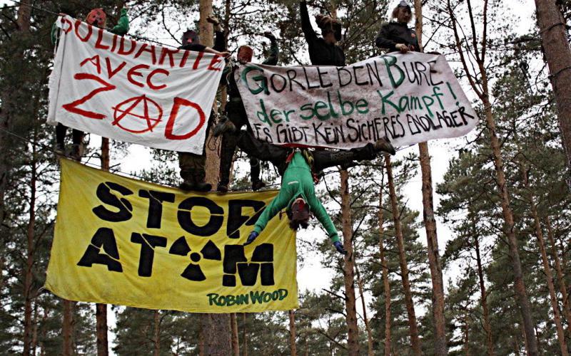 Solidarität mit Bure, dem französischen Gorleben