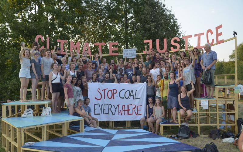Klimacamp: Weltweit aktiv gegen Kohle