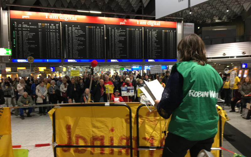 22.1.2018 Frankfurter Flughafen