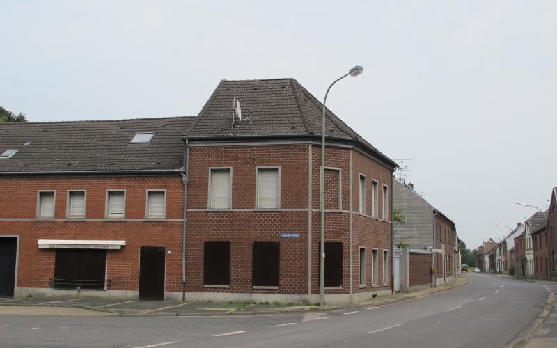 Leerstand in Immerath im Erweiterungsgebiet des Tagebaus Garzweiler