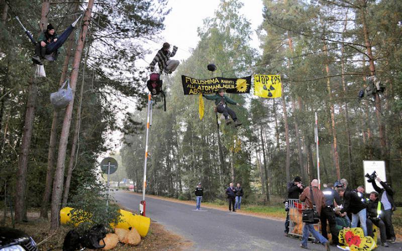 Protest in Lingen, 2013