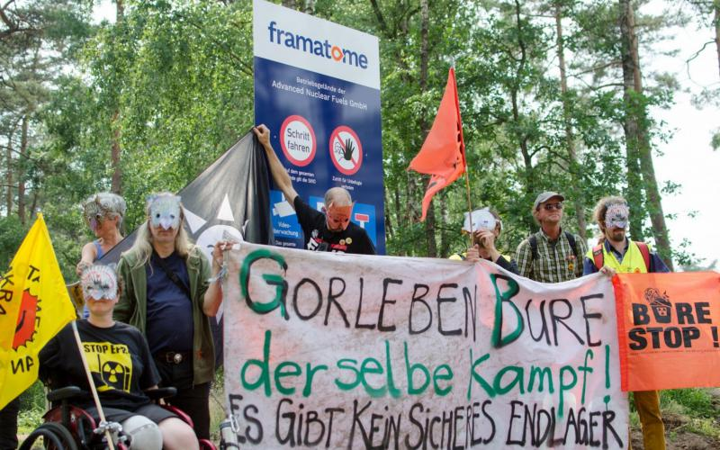 Demonstration in Lingen Juni 2018 - Soli mit Bure