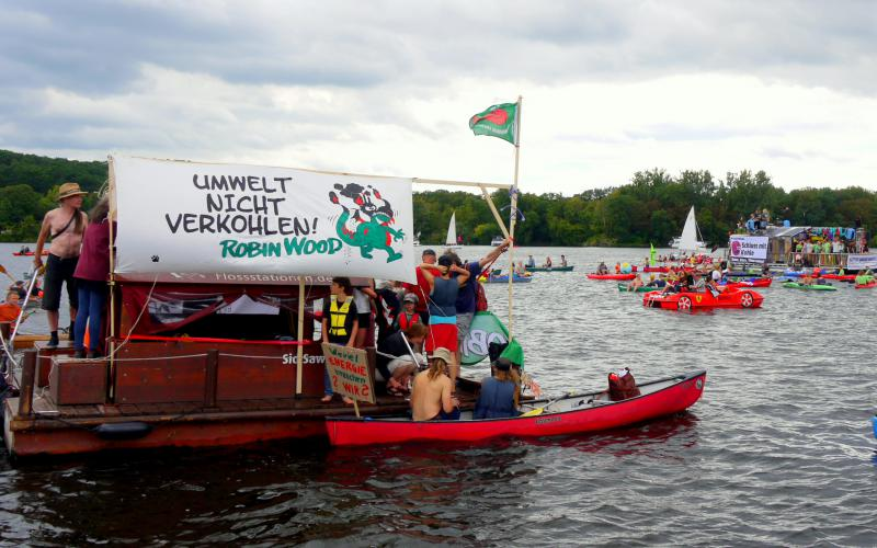 Robin Wood Berlin bei der Coal und Boat 2019