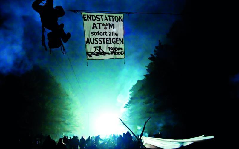 Gorleben im November 2010: Protest gegen den Castor-Transport