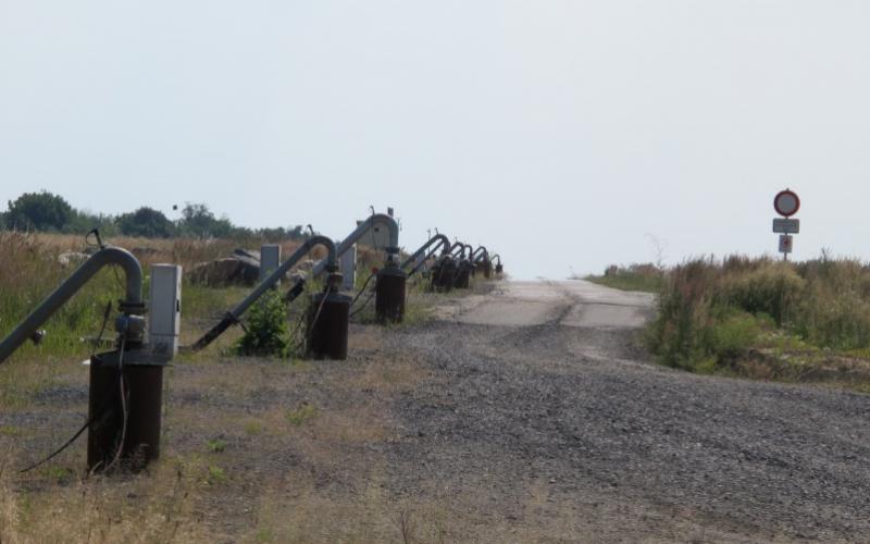 Pumpenanlagen an Braunkohletagebau im Lausitzer Kohlerevier