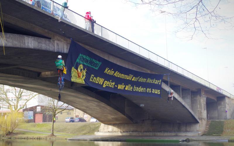 Kein Atommüll auf dem Neckar, Heilbronn 11.2.2017