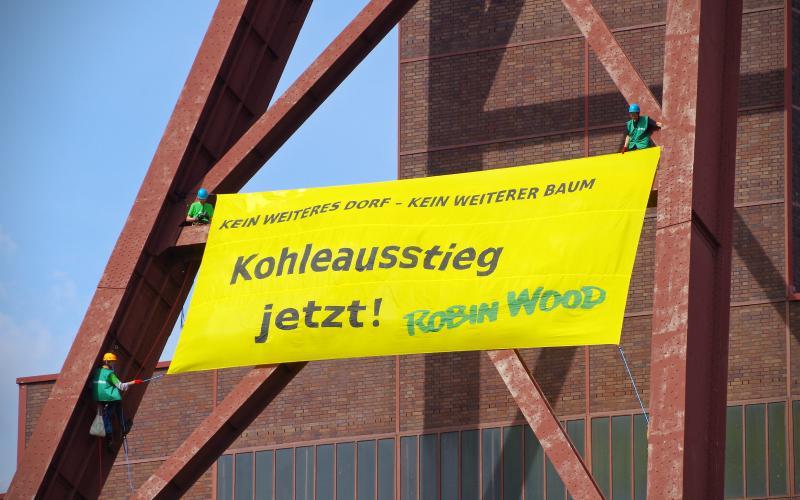 Aktionsfoto Zeche Zollverein