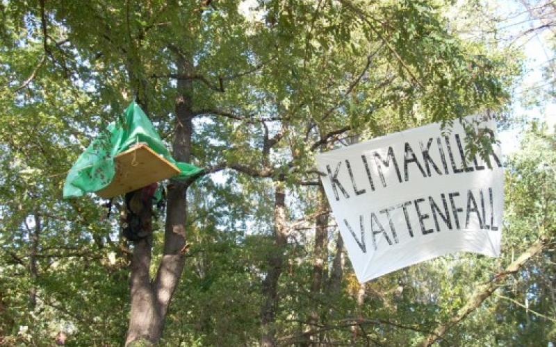Baumbesetzung Lacoma 2007