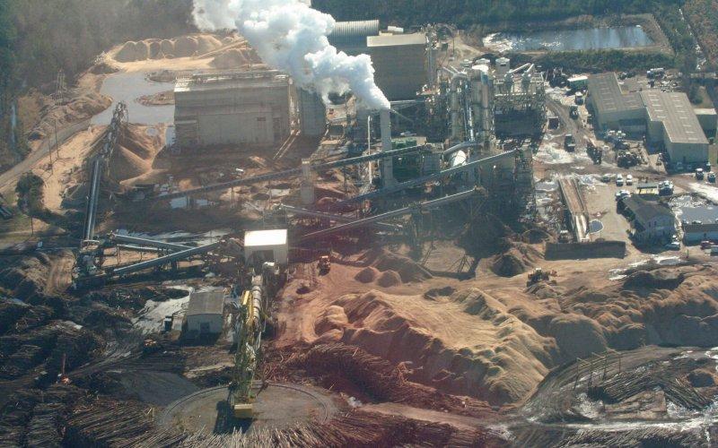 Kraftwerk im Südosten der USA, Foto: Dogwood Alliance